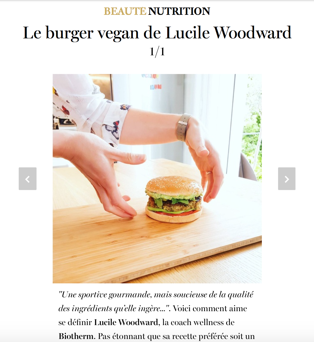 Lucile Woodward - Vogue 2016 - Burger